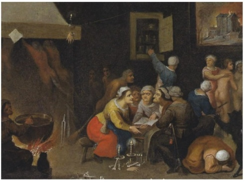 Isabella_Francken_-_A_gathering_of_witches